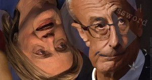 Hillary Clinton, Podesta, list, quota, illustration