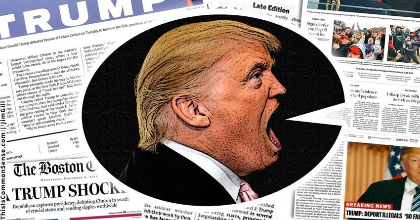 truthiness, Trump, propaganda, lies, truth, journalism, journalist, The Economist, rhetoric