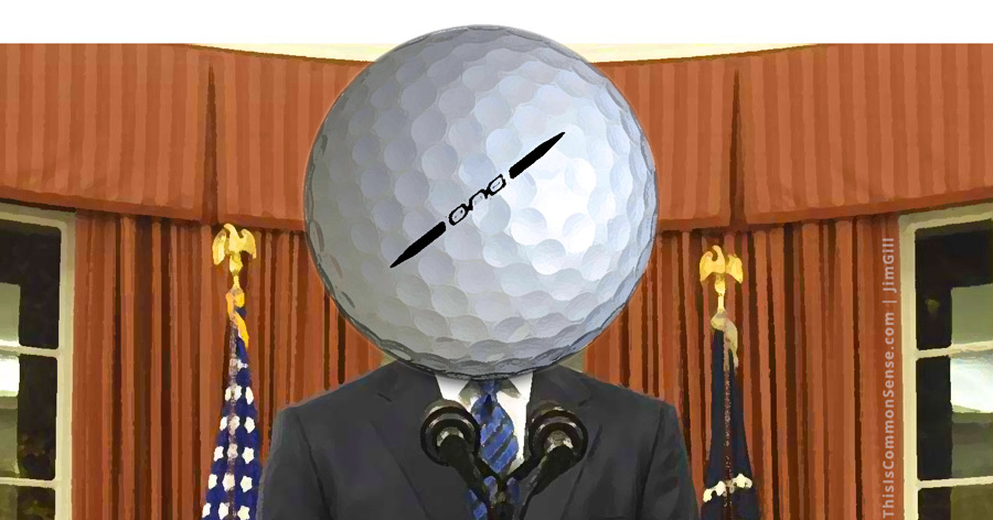 president, presidential, golf, leisure, media, controversy, scandal