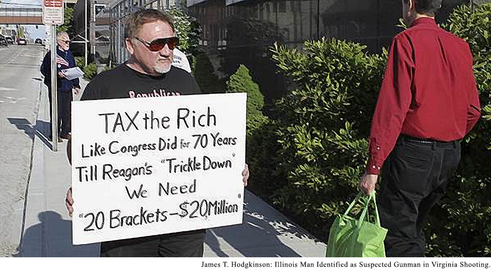 James Hodgkinson of Belleville, Illinois, came to Alexandria, Virginia, shooting, blame, scapegoat, excuses, rationalizations