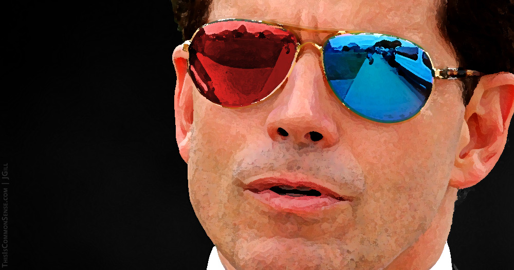"Anthony Scaramucci, reactionary, Trump, partisan, ideologue, ideology, ""The Mooch"", politics,"