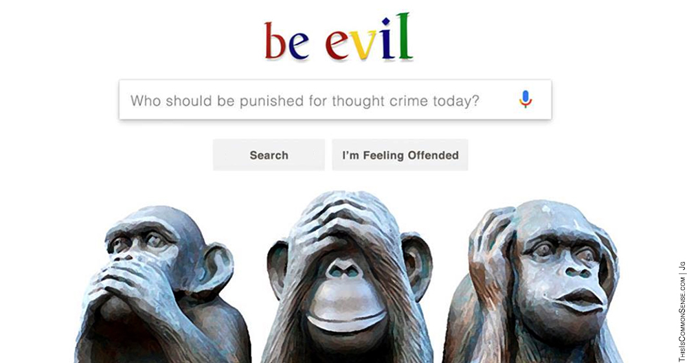 Google, censorship, Boycott, Competition, free market, be evil