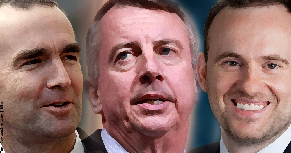 Republican Ed Gillespie, Democrat Ralph Northam, Libertarian Cliff Hyra, Virginia, Governor, race, election, vote,