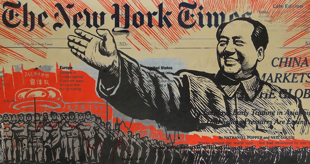 New York Times, apologist, China, Soviet Union, communism, Walter Duranty