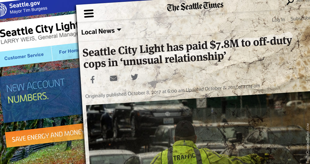 Seattle, City Light, corruption, security, police, scandal, cronyism