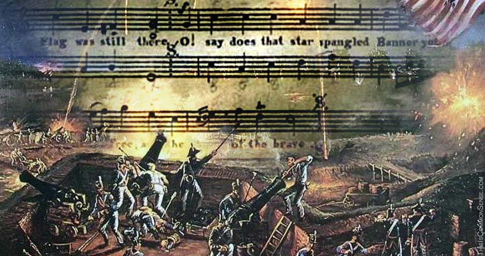 Star Spangled Banner, anthem, PC, slavery, political correctness, war, violence