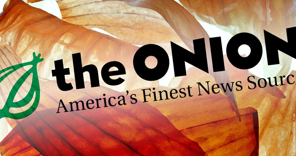 The Onion, satire, humor, CFPB, bureaucracy