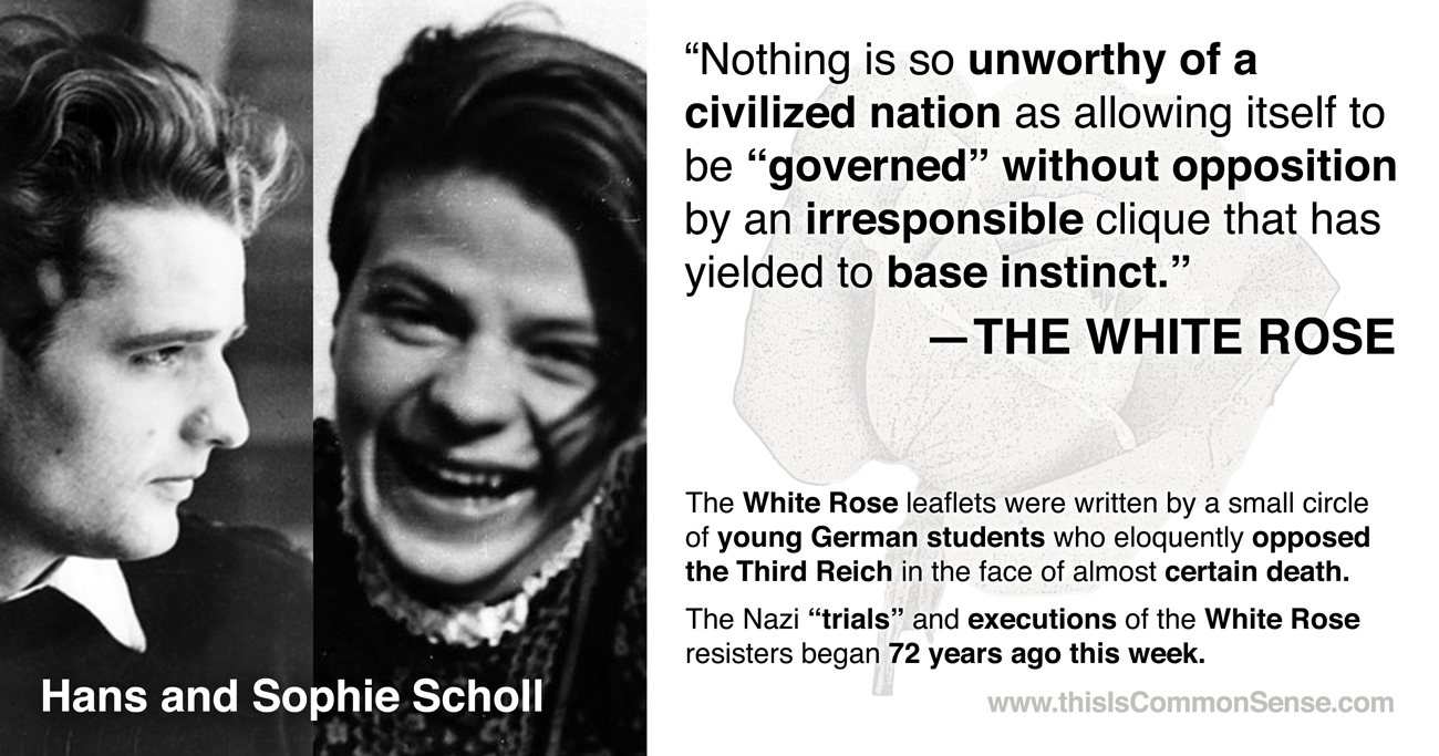 White Rose, Sophie Scholl, Nazi, resistance,