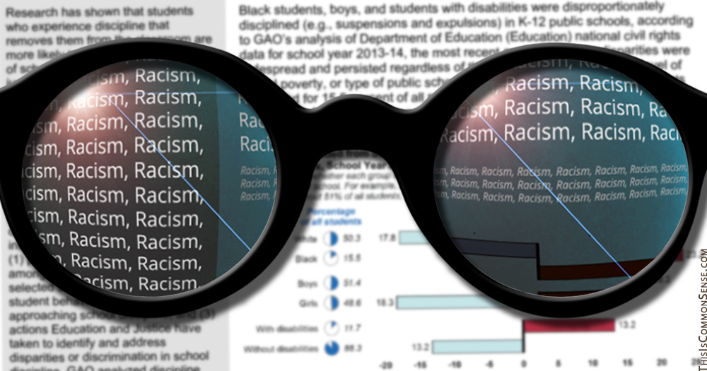 GAO, racism, race, boys, Roseanne, schools, education, bias