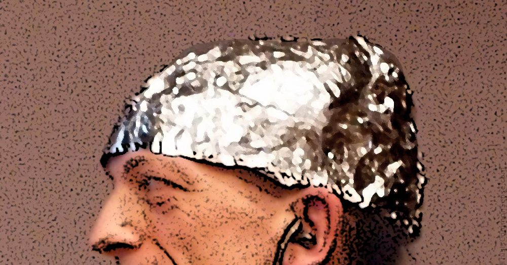 tin foil hat, D.C. Councilman Trayon White, climate control, conspiracy, jews, antisemitism