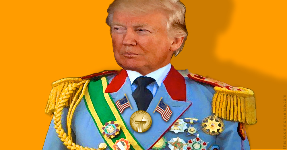 Trump, dictator, war powers, Congress, Executive, power, incompetence