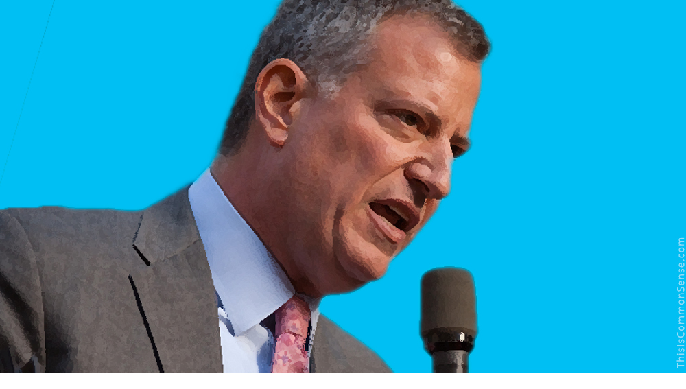 New York Mayor Bill de Blasio, race, racism, low expectations, condescension, Stuyvesant High, quota, affirmative action