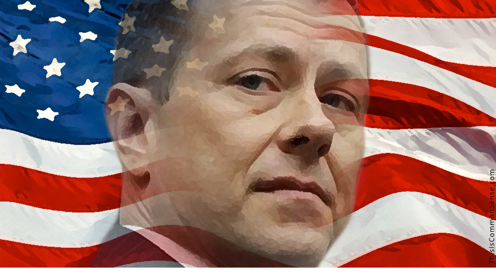 FBI agent Peter Strzok, girlfriend Lisa Page, congressional interrogation, testimony, Trump, threat