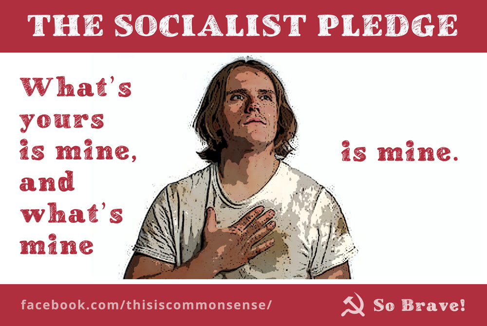 The Socialist Pledge