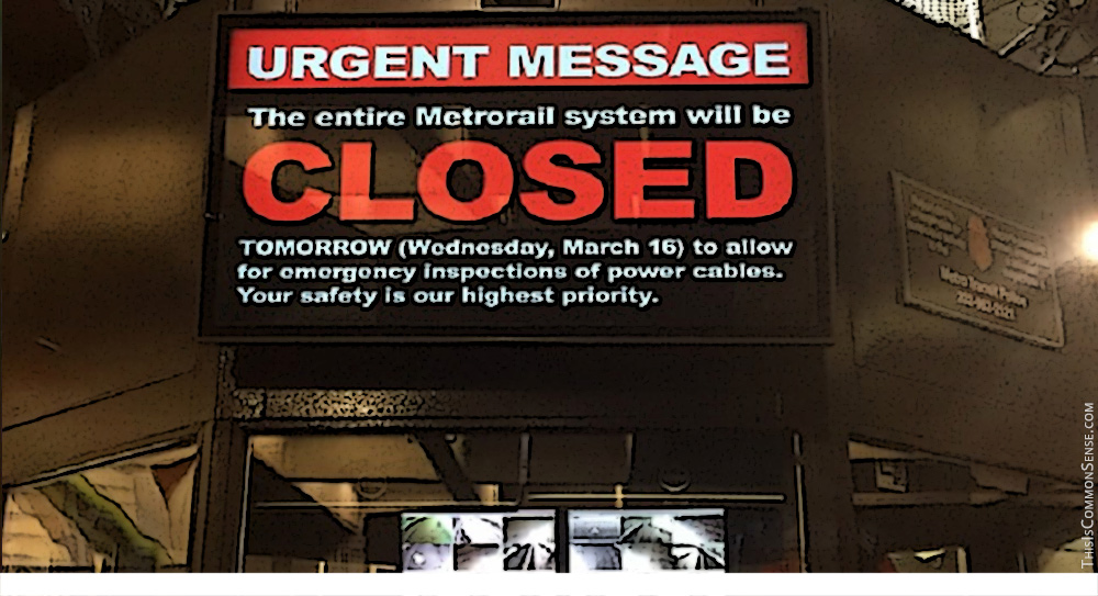 Washington D.C., metro, repairs, closed, government, waste, efficiency, accountability