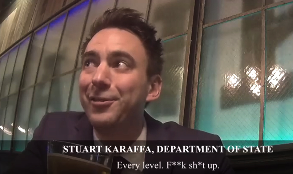 Stuart Karaffa, socialism, DSA, Democratic Socialist,Project Veritas, James O'Keefe