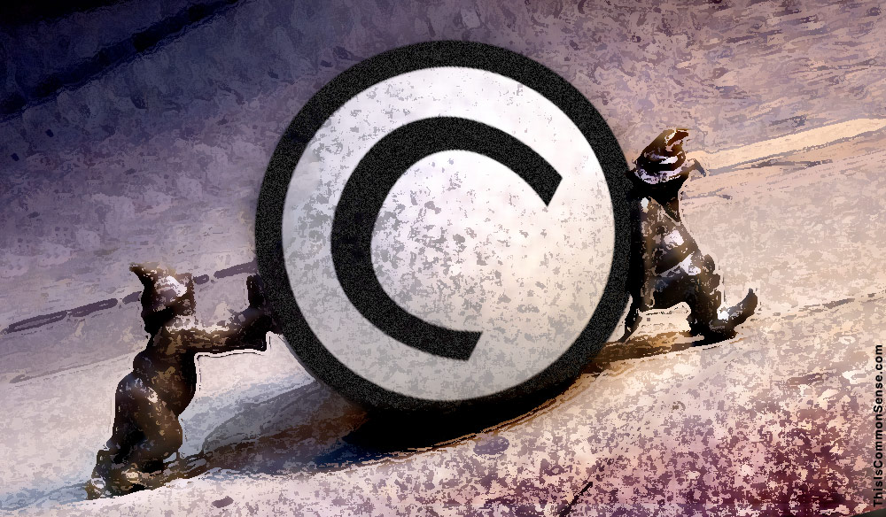copyright, Sysyphus, censorship, books, law, folly