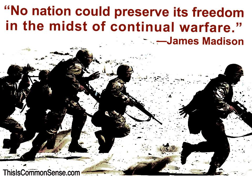 Madison on Perpetual War