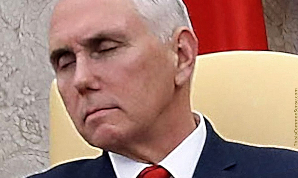 Pence, Vice President, sleeping, transparency, negotiations