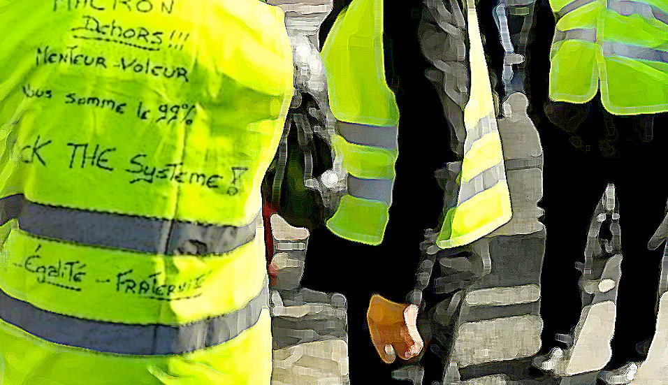 yellow vests, jackets, France, protests, taxes, nationalism