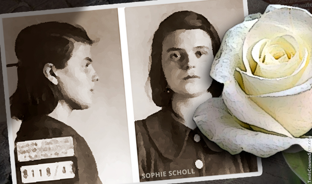 Sophie Scholl, White Rose, Nazis, Germany, Third Reich