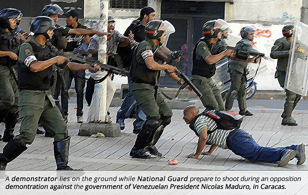 Venezuela, guns, 2nd Amendment, self defense. socialism, rights,