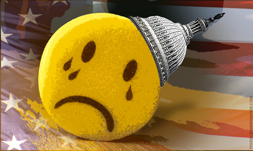 crying smiley, Congress, Independent Counsel, Willam Barr, The Mueller Report,