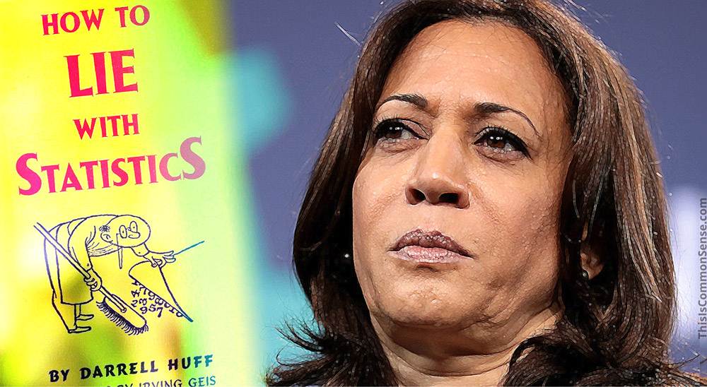 Kamala Harris, statistics, pay gap, sexism,