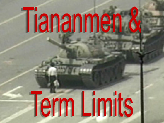Tiananmen & Term Limits