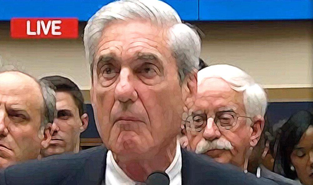 Robert Mueller, disaster, testimony, collusion, exonerate, hearing,