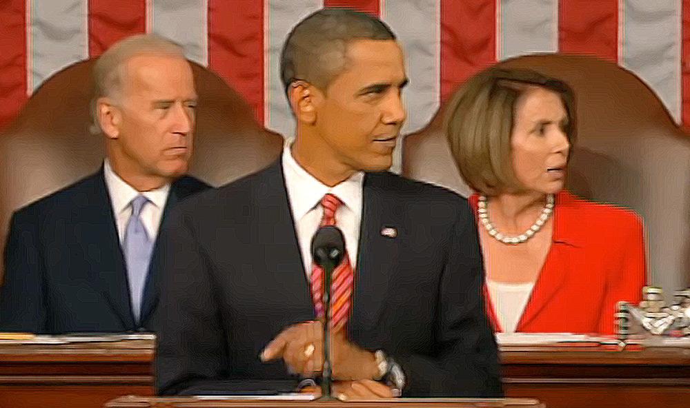 you lie, Obama, Pelosi, Biden, Congress, Speech,