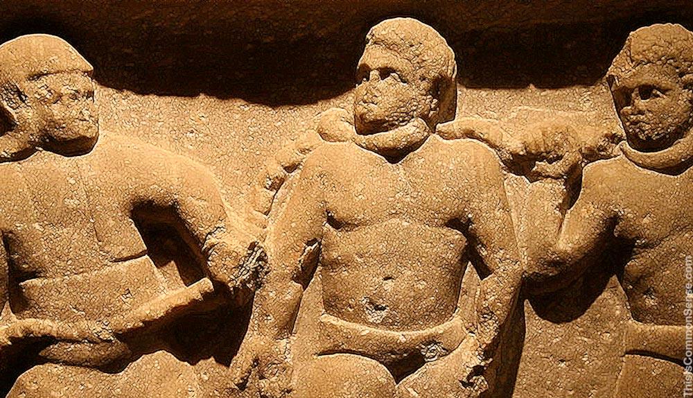slave, ancient, Roman, Rome, chains,