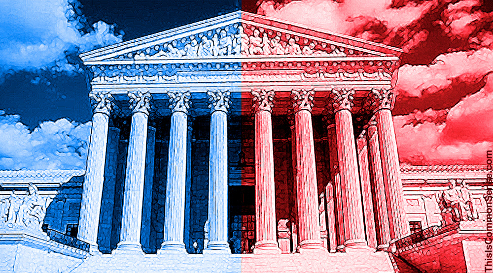 Supreme Court, packing, packed, red, blue, Republican,Democrat, right, left, partisan,