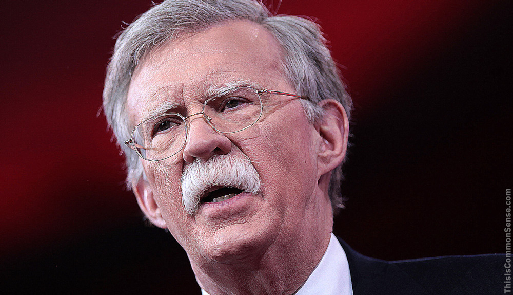 John Bolton, war, defense, peace,