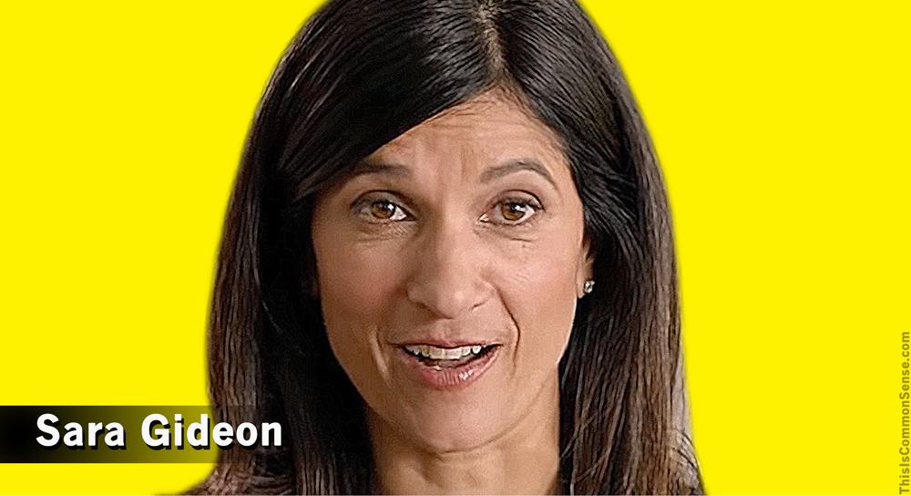 Sara Gideon, candidate, Portland,
