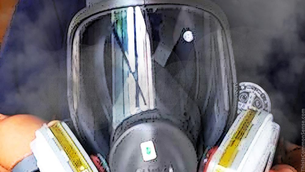 gas mask, Hong Kong, protests,