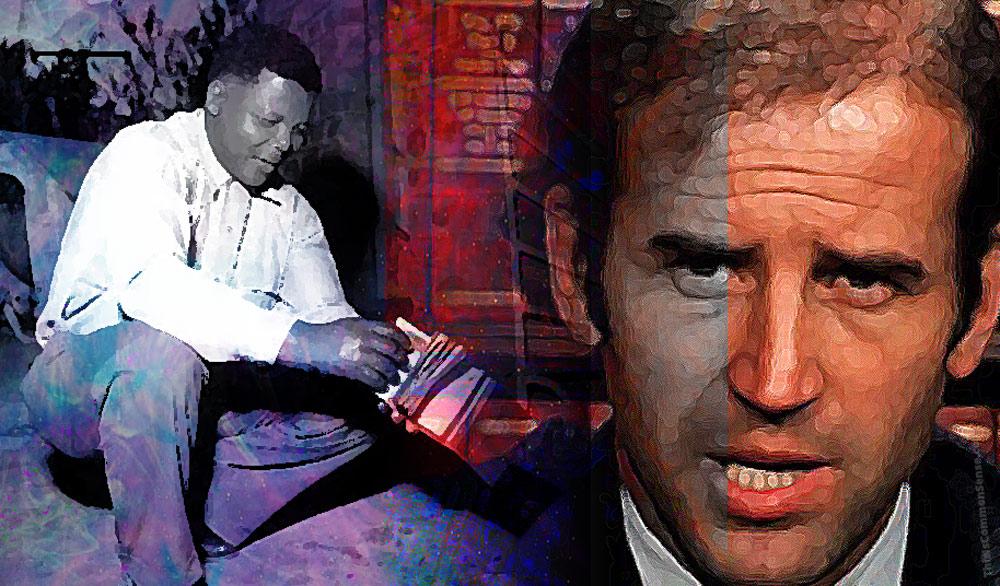 Joe Biden, Nelson Mandela,