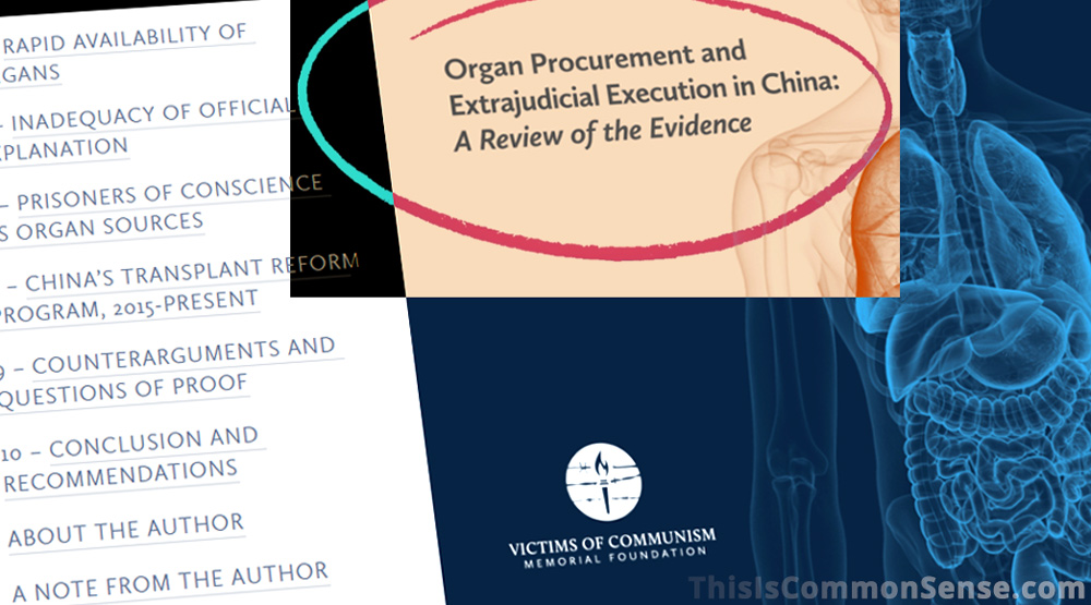 China, organ transplants, capital punishment, communism,