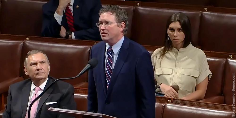 Thomas Massie, Coronavirus, pandemic, virus, House of Representatives, Congress,