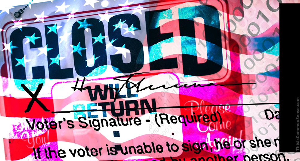 closed, electronic signature, voting, elections, petitions, citizen,