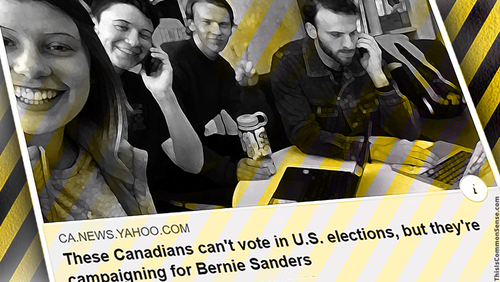 foreign interference, Canada, Bernie Sanders, elections,